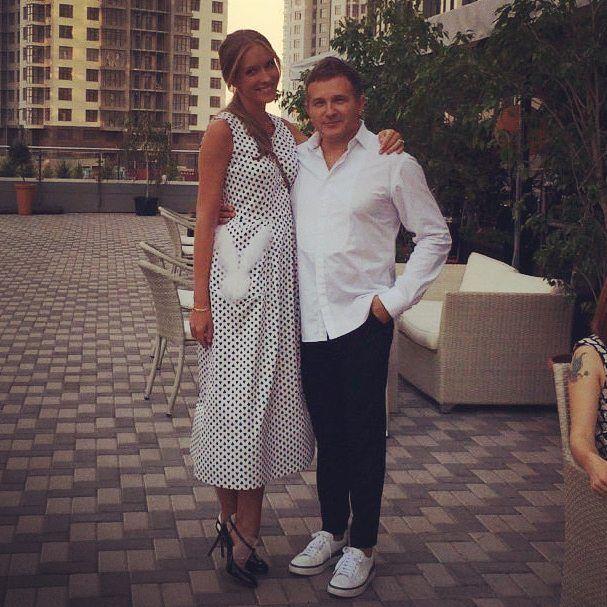 Катя Осадчая и Юрий Горбунов- новая пара