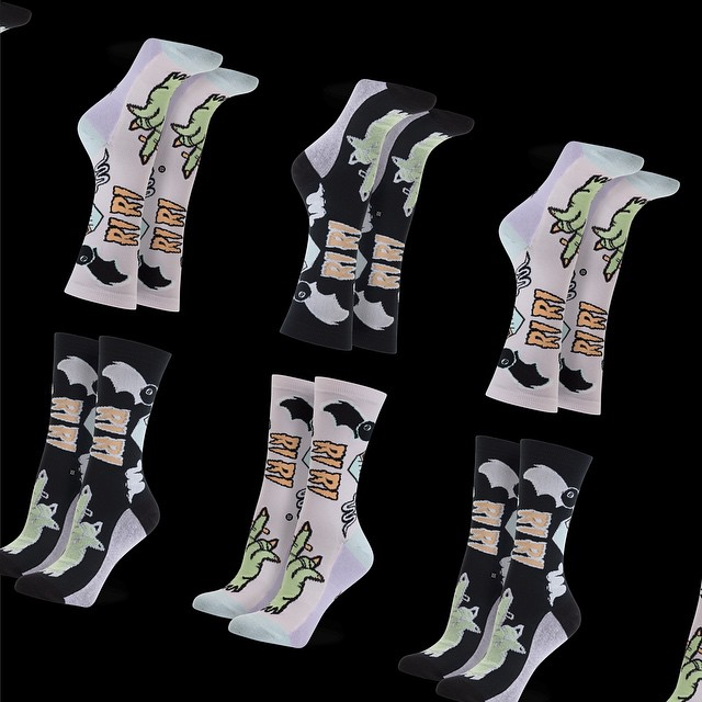 Рианна выпустила собственную линию эксклюзивных носков