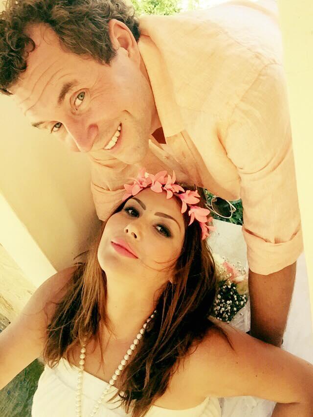 Певица Галлина снова вышла замуж: свадебные фото