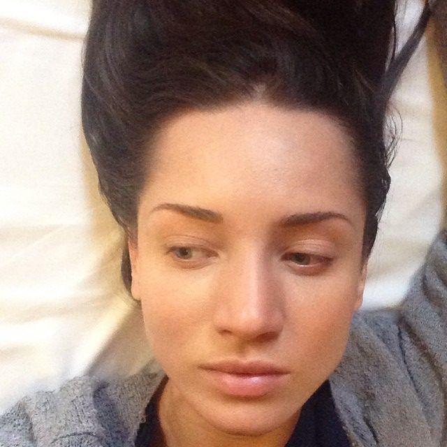 Татьяна Денисова без макияжа