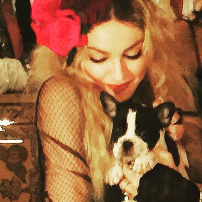 Мадонна отпраздновала свой день рождения