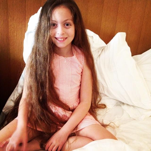 Фотофакт: дочь Оли Поляковой растет точной копией своей звездной мамы