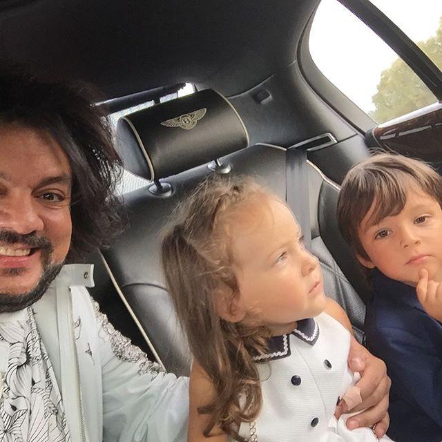 """Филипп Киркоров: """"Воспитанием детей занимается их мать"""""""