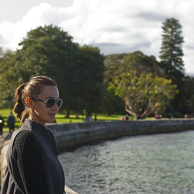 Яна Станишевская вместе со своим мужем Виктором Нобиузом проводит медовый месяц в Австралии