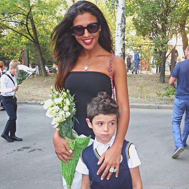 Сын Санты Димопулос пошел в первый класс
