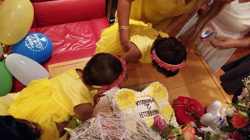 Камалия отпраздновала двухлетие своих дочерей