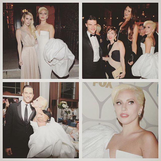 Репетиция свадьбы: Леди Гага покоряет роскошным белым нарядом