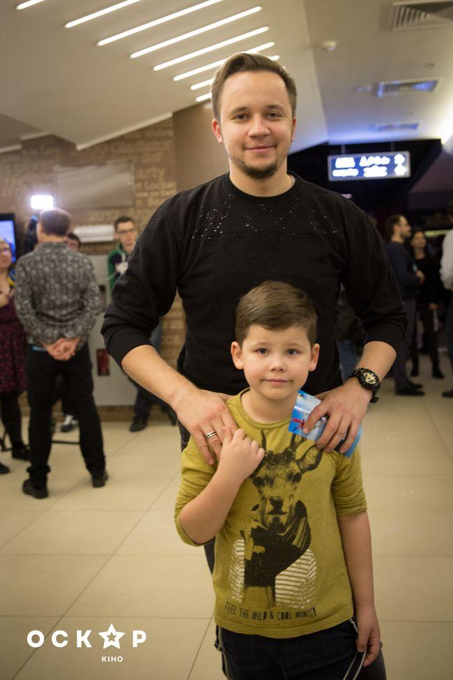 звезды и их дети на премьере мультфильма Робинзон Крузо