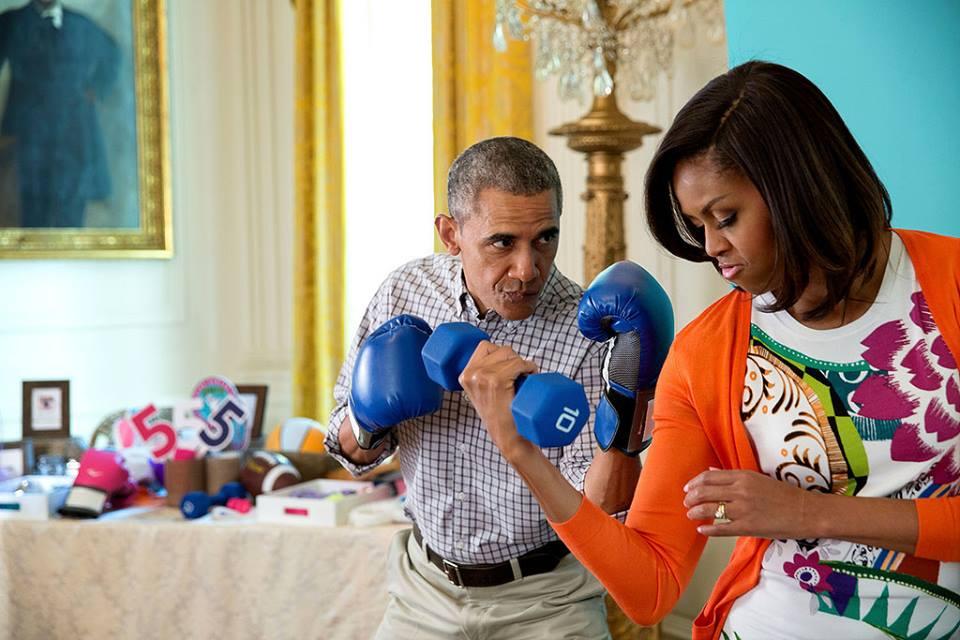 Подарок для президента: Мишель Обама рассказала, что подарит мужу на Рождество