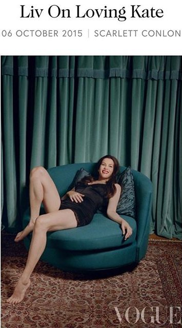 Впервые после родов Лив Тайлер снялась в соблазнительной фотосессии для глянца