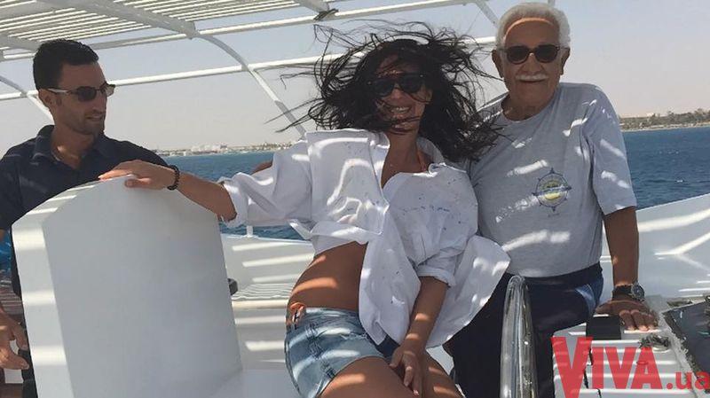 Джамала фантастически отдохнула в Египте
