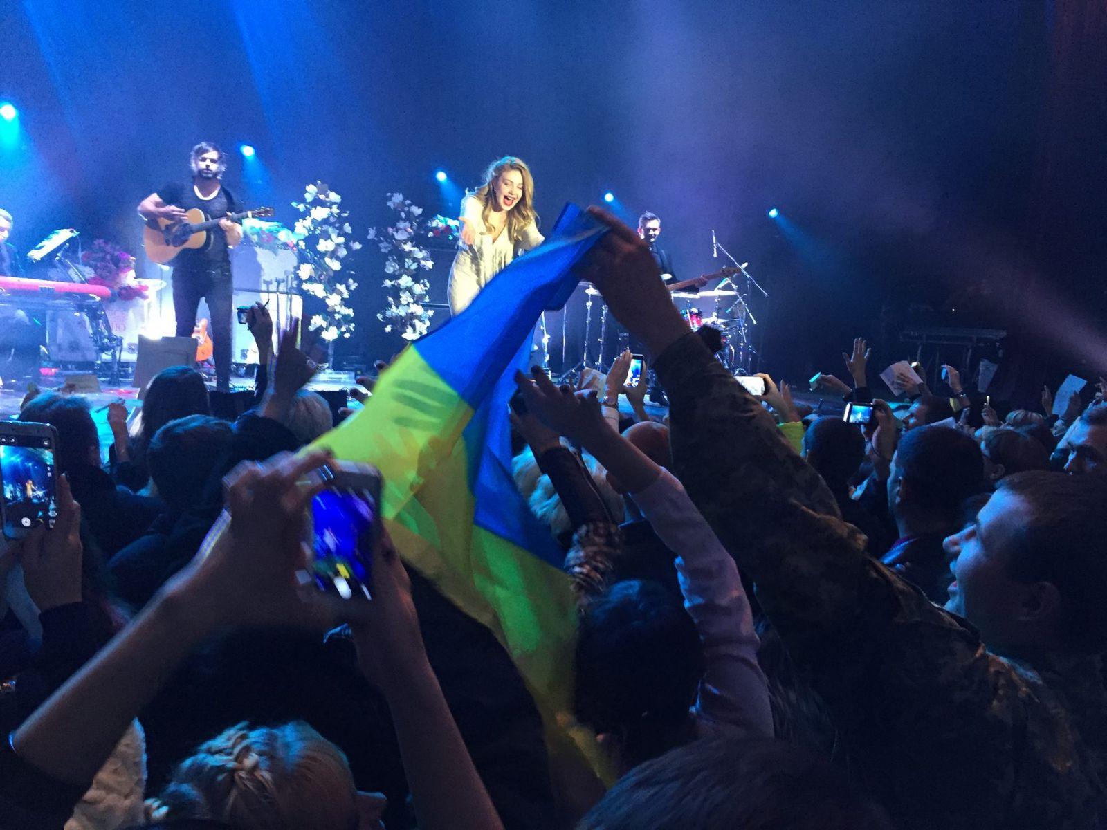 Тина Кароль выступила в Северодонецке