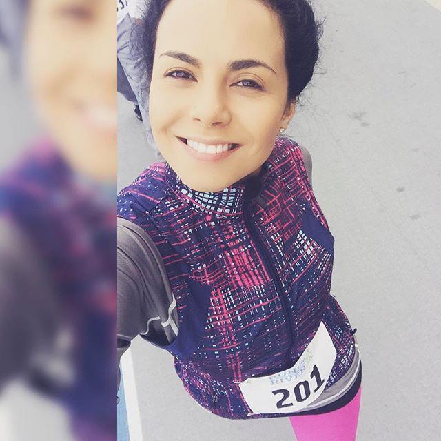 Только спорт: Настя Каменских поучаствовала в нью-йоркском марафоне