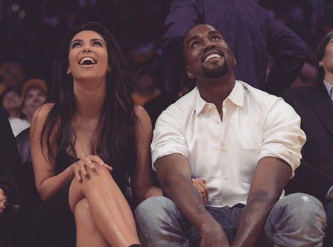 Ким Кардашьян опубликовала уникальное фото с супругом Канье Уэстом, сделанное задолго до брака