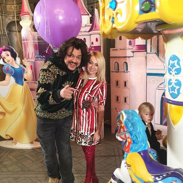 Филипп Киркоров отпраздновал королевский день рождения дочери