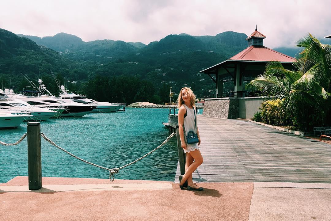 Райский отдых: Ксения Бугримова улетела вместе с мужем на Сейшельские острова