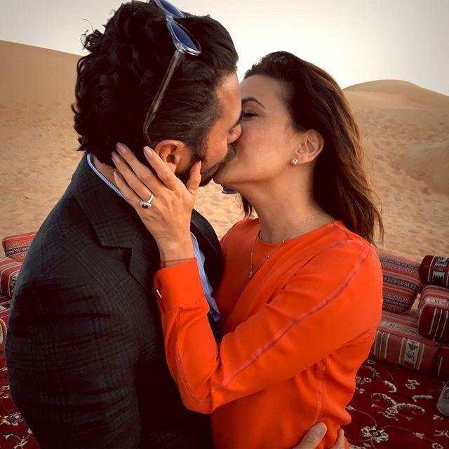 """Ева Лонгория о своей помолвке:  """"Я еще никогда я не была так счастлива!"""""""