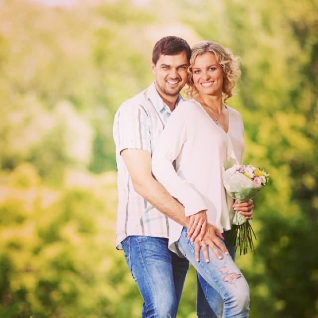 Константин Евтушенко и его жена Наталья Добрынская