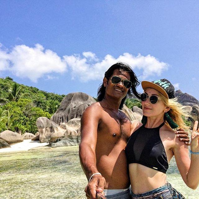 Ксения Бугримова отдохнула с мужем на Сейшельских островах