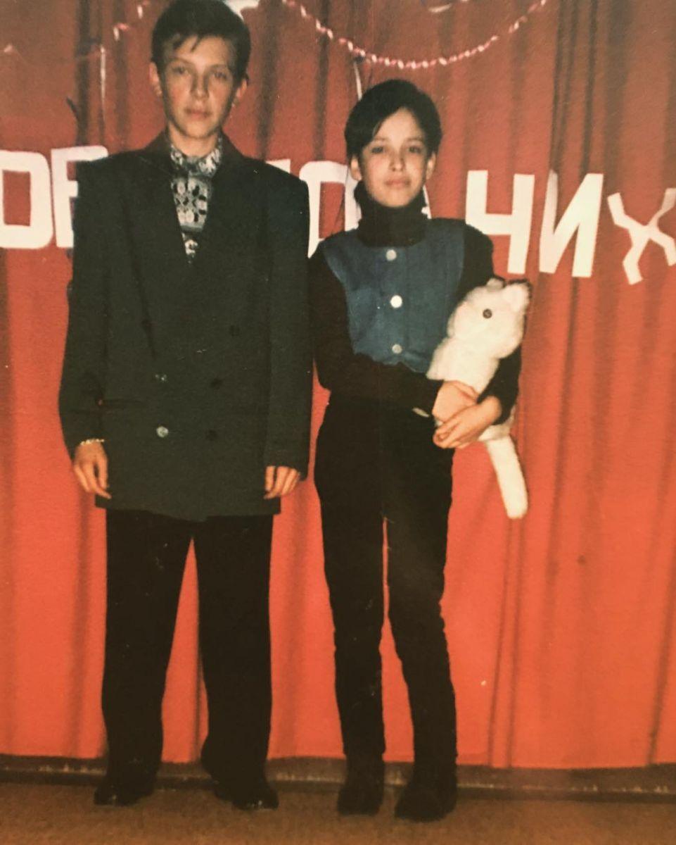 Даша Астафьева показала, как выглядела в детстве