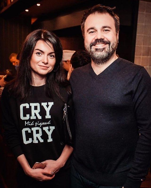 Антон Лирник и его нынешняя супруга Марина