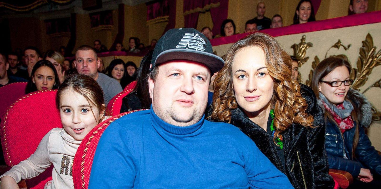 Виктор Бронюк с женой