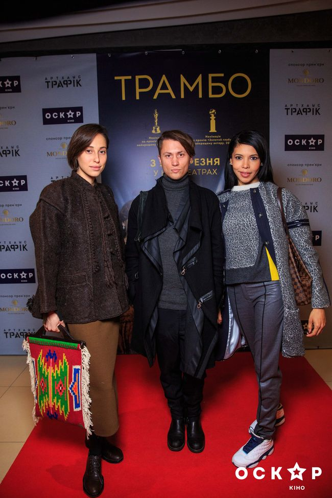 Новый солист Скрябин сходил на премьеру фильма Трамбо