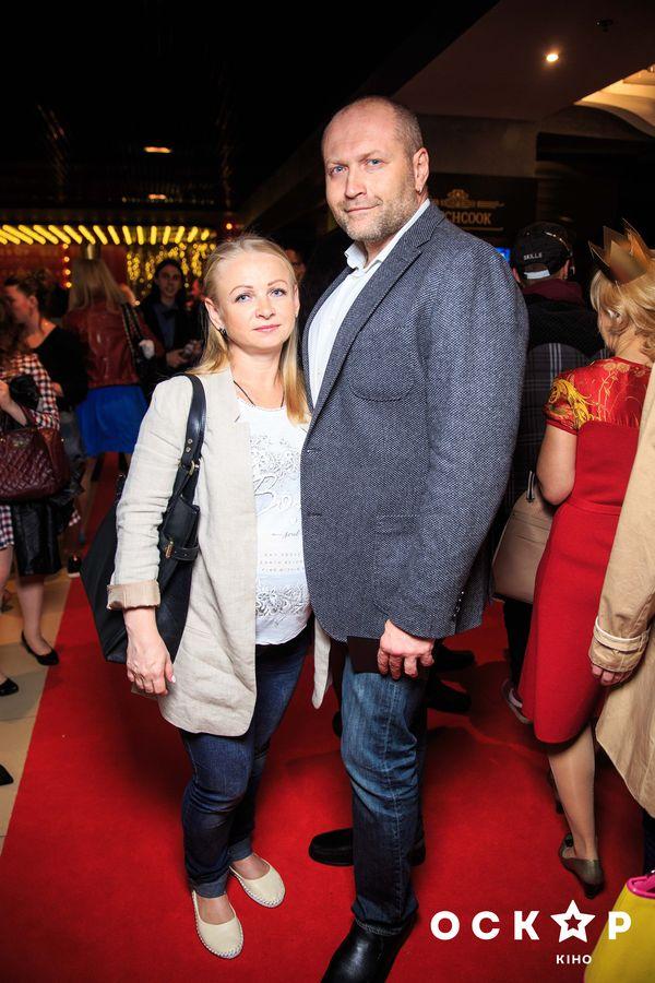 Борислав Береза с женой Натальей