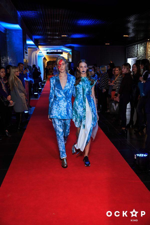 Перед показом фильма Образцовый самец-2 прошел модный показ дизайнера Жана Грицфельдта