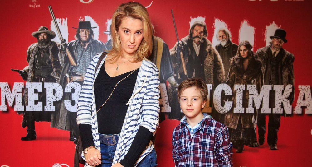 Снежана Егорова с сыном