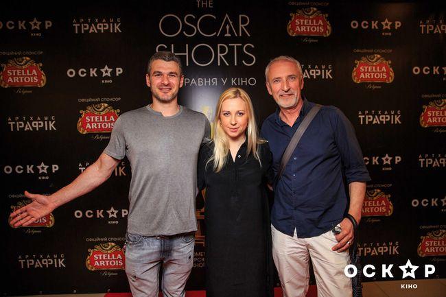 Настоящие киноманы: Тоня Матвиенко и Арсен Мирзоян на показе короткометражек  Oskar Shorts