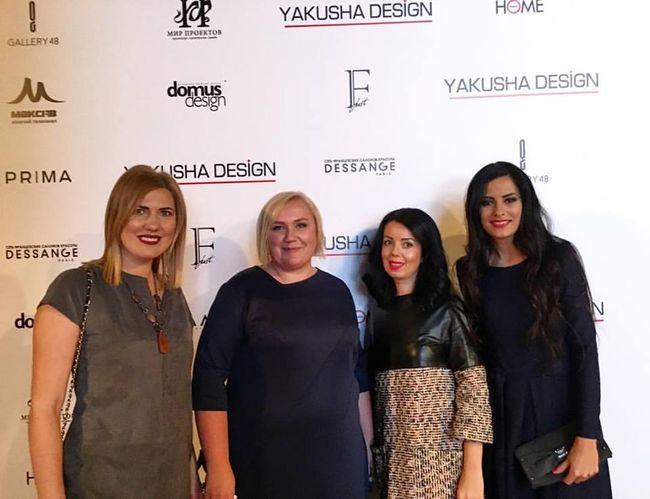 ONUKA выступила на презентации этноколлекции мебели от украинского дизайнера