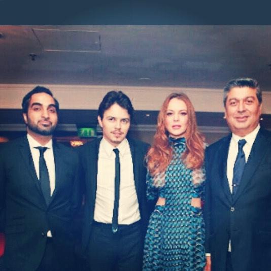 Линдси Лохан беременна от своего российского жениха – СМИ