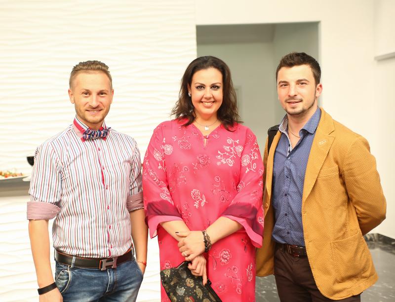 В A-Gallery состоялось звездное открытие мультимедийной выставки