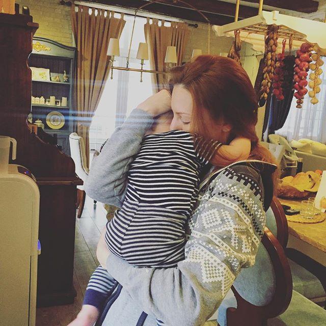 Наталья Подольская показала 9-месячного сына