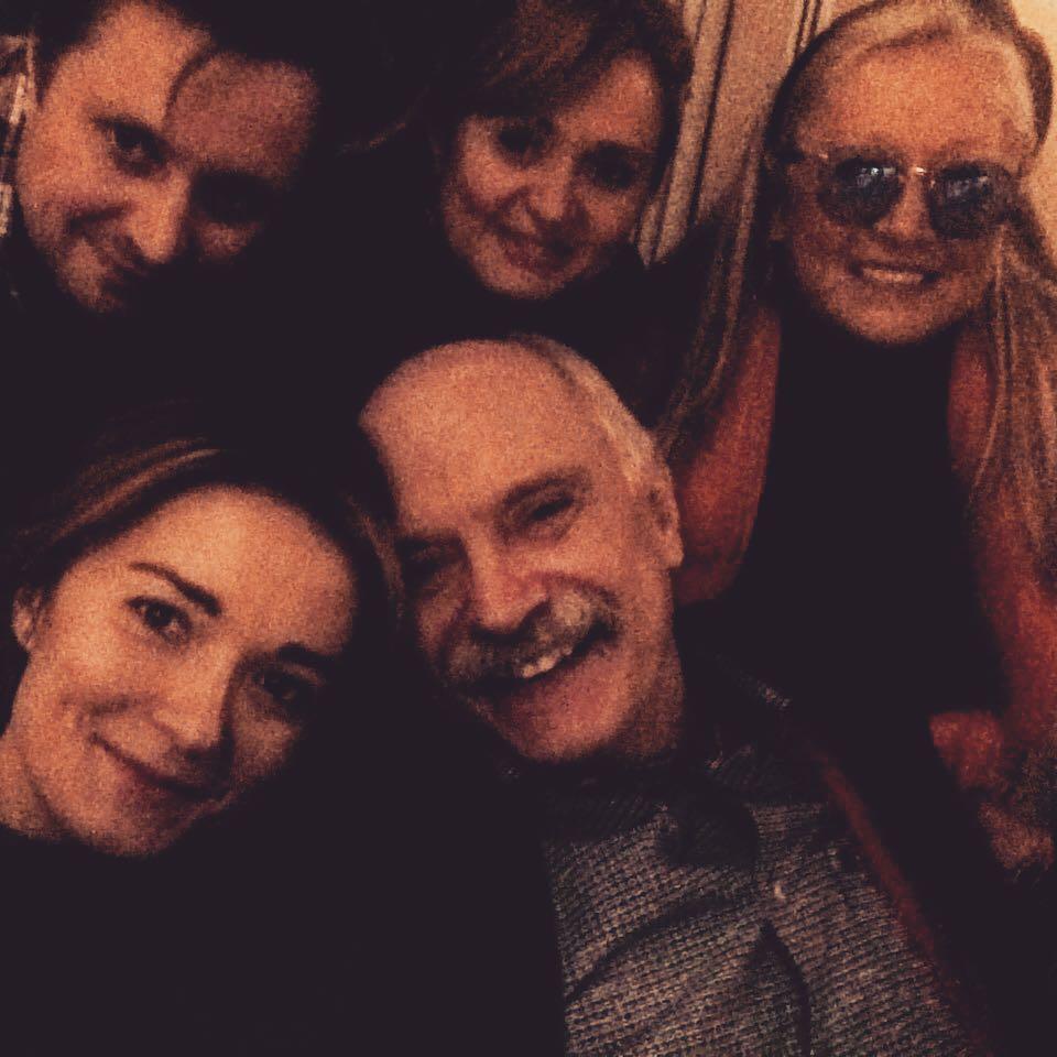 Надя Михалкова примерила знаменитые усы своего отца