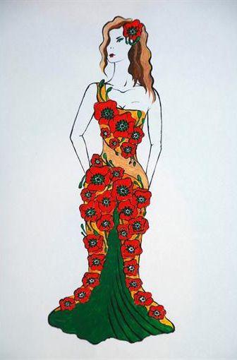 Оксана Марченко платья фото 2013