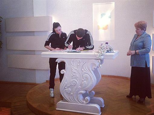Анастасия Приходько вышла замуж свадьба фото 2013