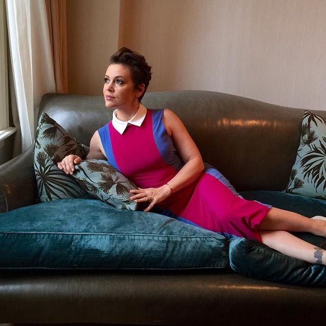 43-летняя Алисса Милано рассказала о своем фантастическом похудении после второй беременности