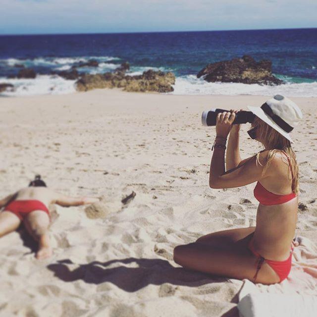 Фотофакт: после допингового скандала Мария Шарапова расслабляется в Мексике