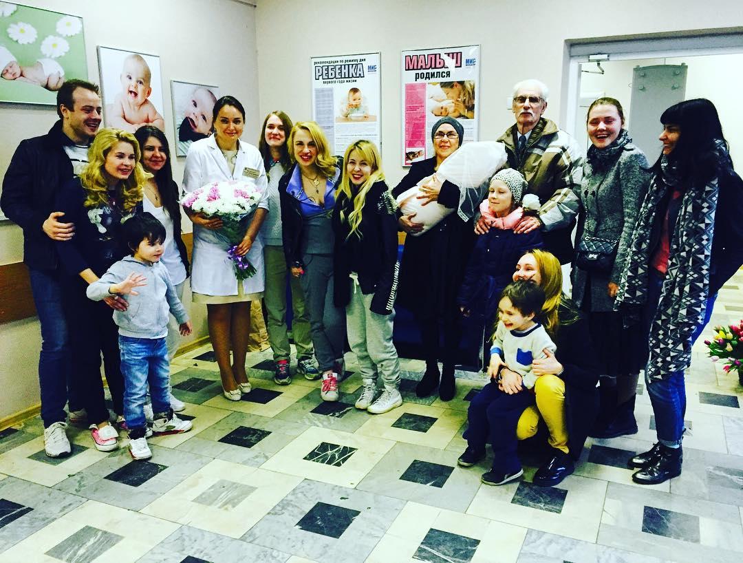 Валерия Гай Германика во второй раз стала мамой