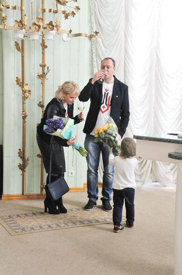 Фотофакт: Ирма Витовская во второй раз вышла замуж