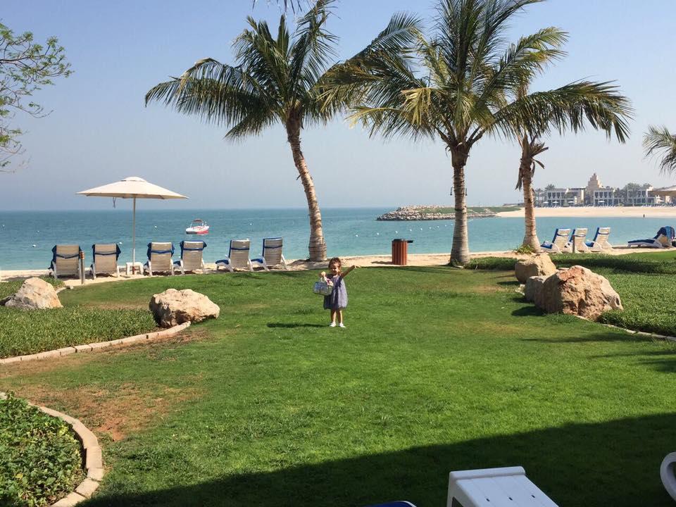 Лилия Ребрик с мужем и дочерью отдыхает в ОАЭ