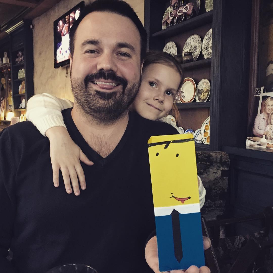 Антон Лирник и его дочь Соня