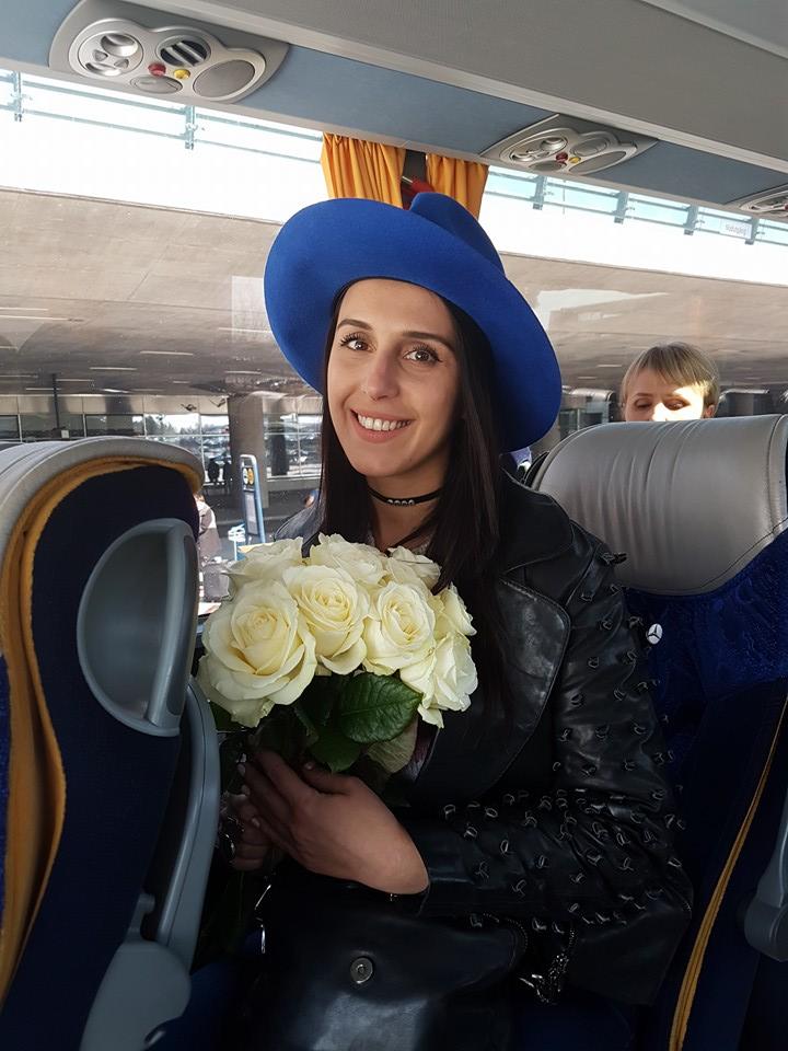 """""""Евровидение-2016"""": Джамала прилетела в Стокгольм на репетиции своего номера"""