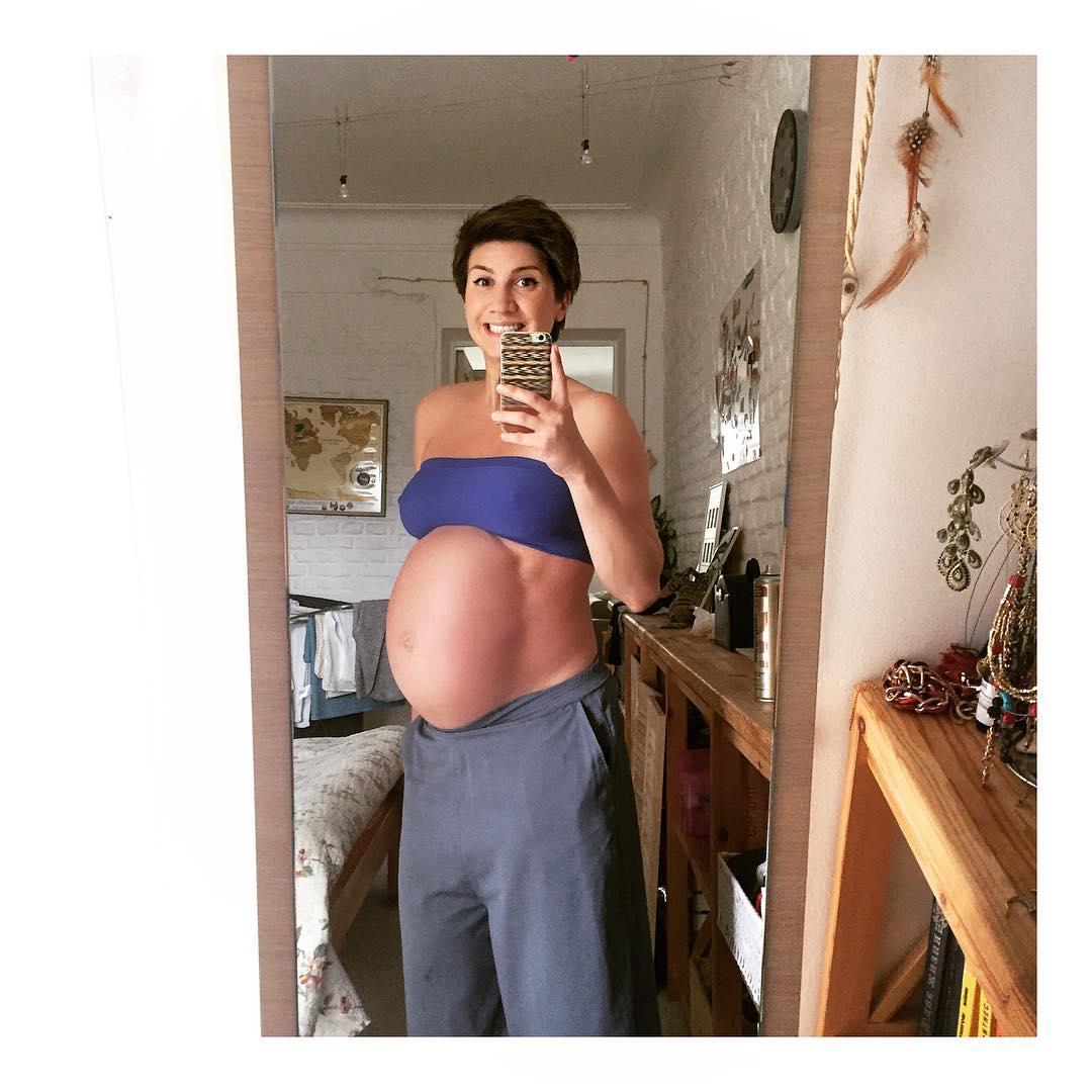 Анита Луценко во время беременности поправилась на 21 килограмм