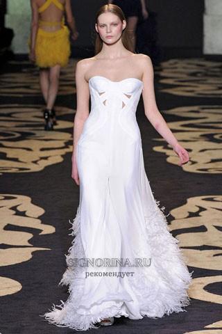 Свадебное платье от версачи