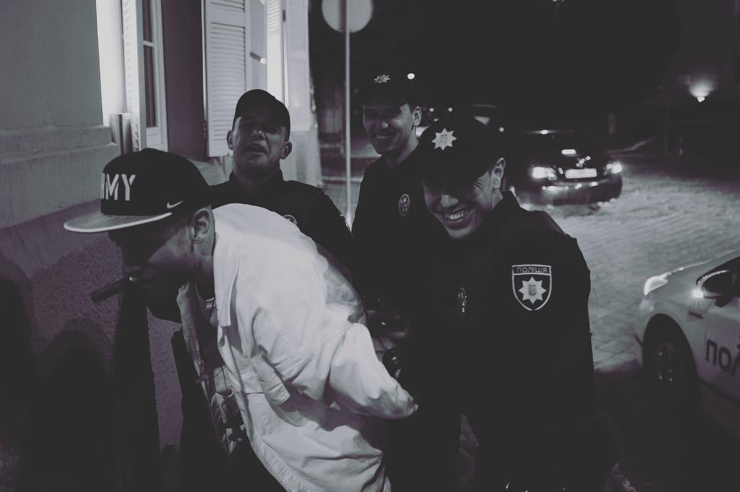 Иван Дорн попал в полицию