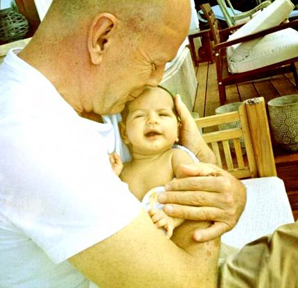 Брюс Уиллис фото дочь