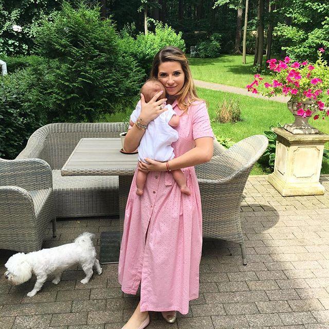 Дочь Валентина Юдашкина показала подросшего сына